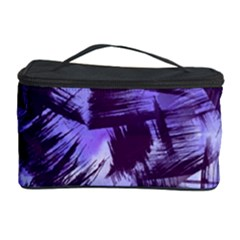 Purple Paint Strokes Cosmetic Storage Case