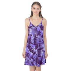 Purple Paint Strokes Camis Nightgown