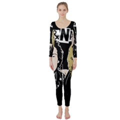 Sid and Nancy Long Sleeve Catsuit