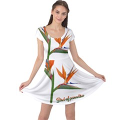 Bird Of Paradise Cap Sleeve Dresses