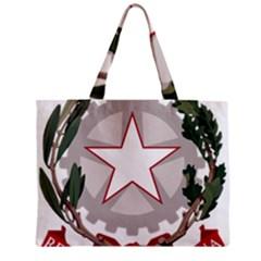 Emblem of Italy Zipper Mini Tote Bag