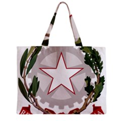Emblem of Italy Zipper Mini Tote Bag