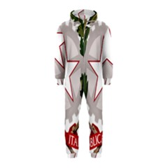 Emblem of Italy Hooded Jumpsuit (Kids)