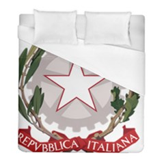Emblem of Italy Duvet Cover (Full/ Double Size)