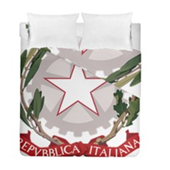 Emblem of Italy Duvet Cover Double Side (Full/ Double Size)