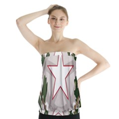 Emblem of Italy Strapless Top