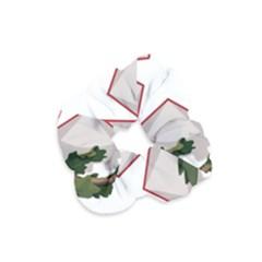 Emblem of Italy Velvet Scrunchie