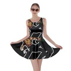 Kung Fu  Skater Dress