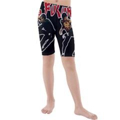 Kung Fu  Kids  Mid Length Swim Shorts