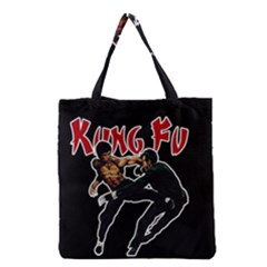 Kung Fu  Grocery Tote Bag