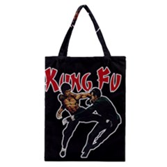 Kung Fu  Classic Tote Bag