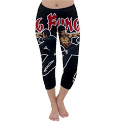 Kung Fu  Capri Winter Leggings