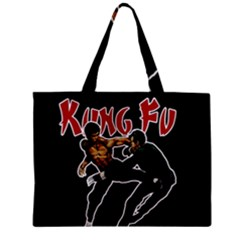 Kung Fu  Zipper Mini Tote Bag