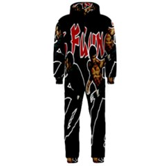 Kung Fu  Hooded Jumpsuit (Men)