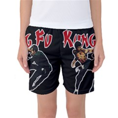 Kung Fu  Women s Basketball Shorts