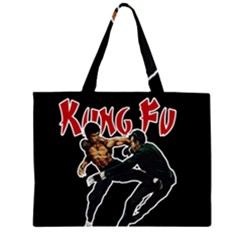 Kung Fu  Large Tote Bag