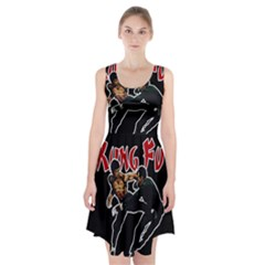 Kung Fu  Racerback Midi Dress