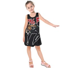 Kung Fu  Kids  Sleeveless Dress