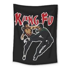 Kung Fu  Medium Tapestry