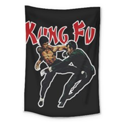 Kung Fu  Large Tapestry