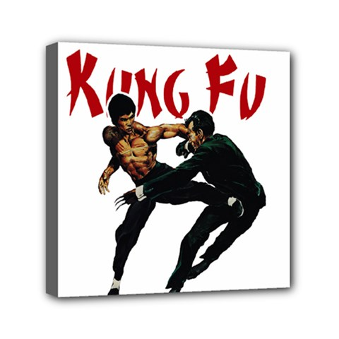 Kung Fu  Mini Canvas 6  x 6