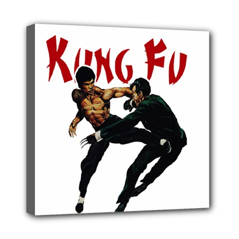 Kung Fu  Mini Canvas 8  x 8