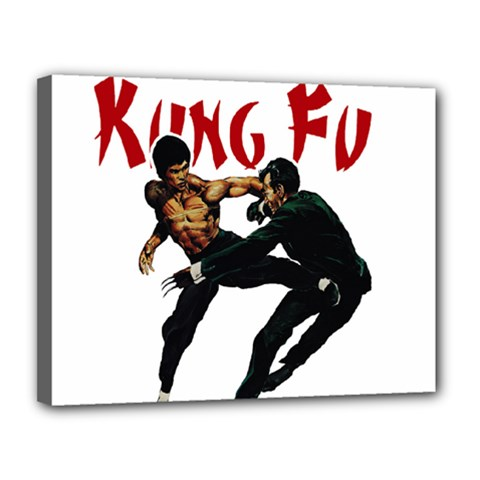 Kung Fu  Canvas 14  x 11