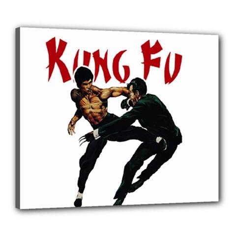 Kung Fu  Canvas 24  x 20