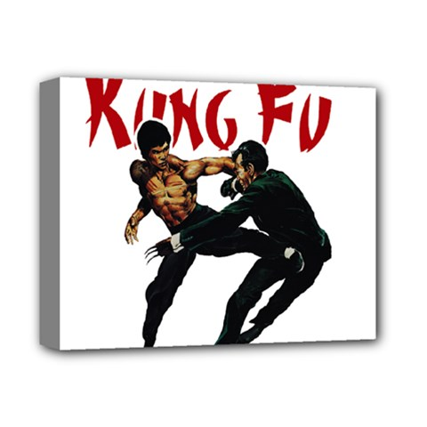Kung Fu  Deluxe Canvas 14  x 11