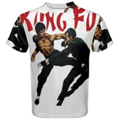 Kung Fu  Men s Cotton Tee