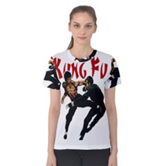 Kung Fu  Women s Cotton Tee
