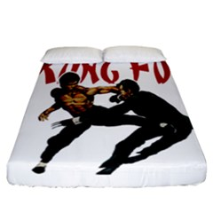 Kung Fu  Fitted Sheet (California King Size)