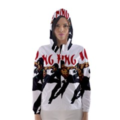 Kung Fu  Hooded Wind Breaker (Women)