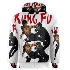 Kung Fu  Men s Zipper Hoodie