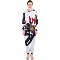 Kung Fu  Hooded Jumpsuit (Ladies)