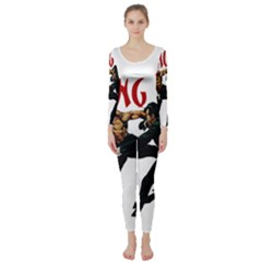 Kung Fu  Long Sleeve Catsuit