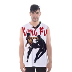 Kung Fu  Men s Basketball Tank Top