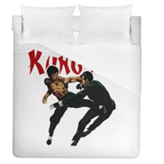 Kung Fu  Duvet Cover (Queen Size)