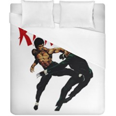 Kung Fu  Duvet Cover (California King Size)