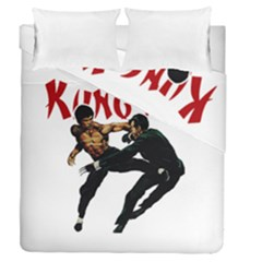 Kung Fu  Duvet Cover Double Side (Queen Size)