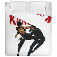Kung Fu  Duvet Cover Double Side (California King Size)