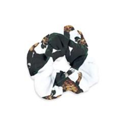 Kung Fu  Velvet Scrunchie