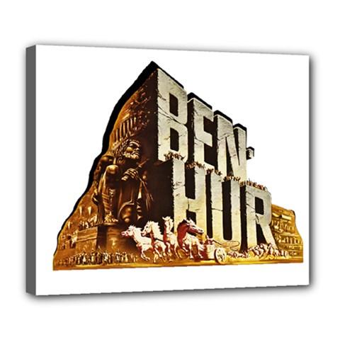 Ben Hur Deluxe Canvas 24  x 20