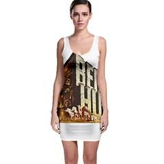 Ben Hur Sleeveless Bodycon Dress