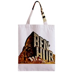 Ben Hur Zipper Classic Tote Bag