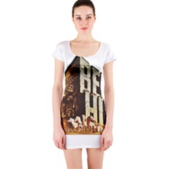 Ben Hur Short Sleeve Bodycon Dress