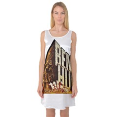 Ben Hur Sleeveless Satin Nightdress