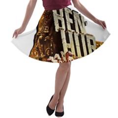 Ben Hur A-line Skater Skirt