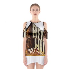 Ben Hur Shoulder Cutout One Piece