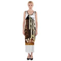 Ben Hur Fitted Maxi Dress